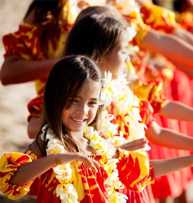 Hawaii Hula girls