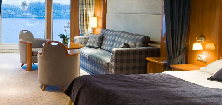 Beautifully comfortable cabins