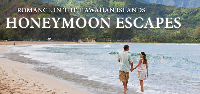 Destination Weddings and Honeymoon Escapes to Hawaii