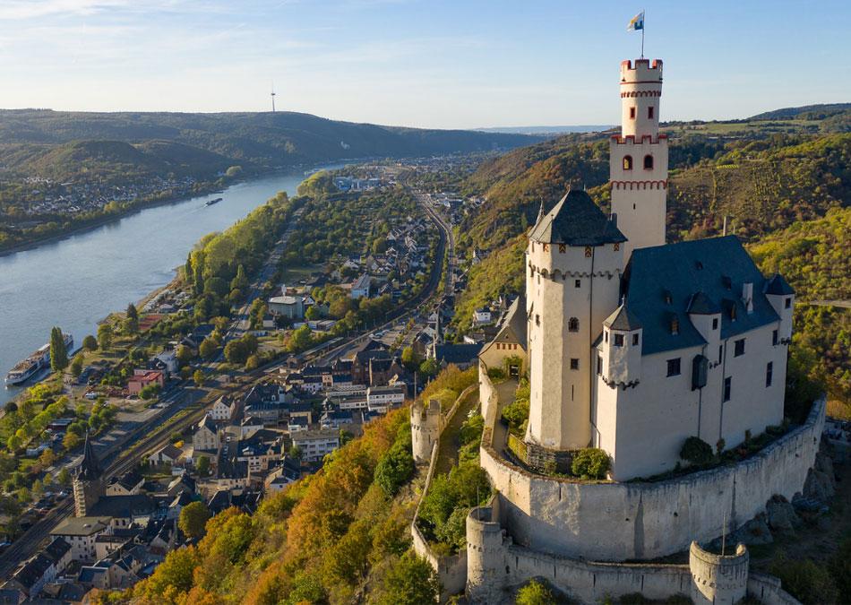 Watch for Castles as you Sail through European Rivers