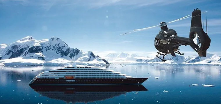 Take Helicopter Tour on Scenic Eclipse