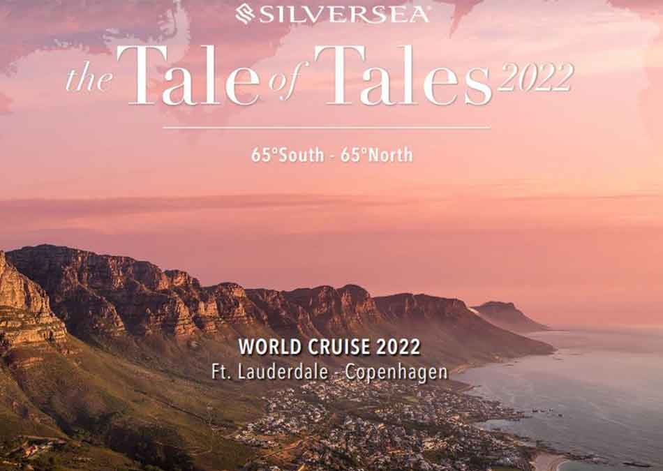 Book Your 2022 World Cruise TODAY!