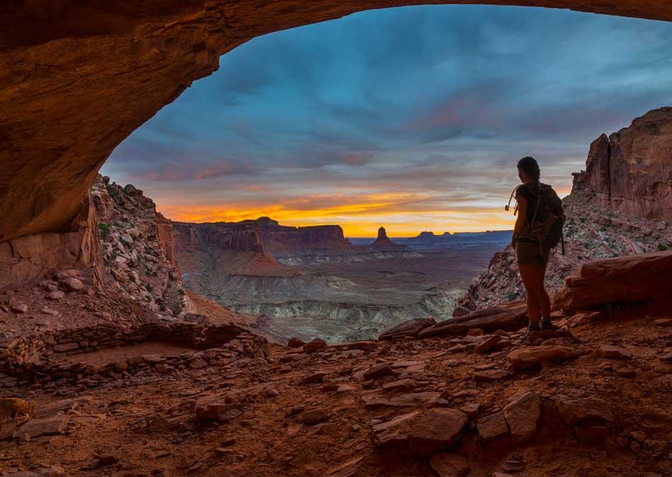 False Kiva Canyonlands National Park Moab Utah USA