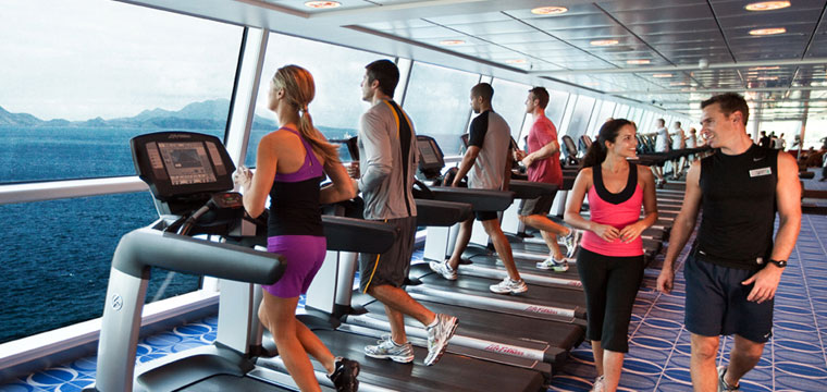Exercise with an unparalleled view on Celebrity Cruises