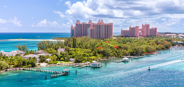 Visit Paradise Island in the Bahamas and get lost in Atlantis