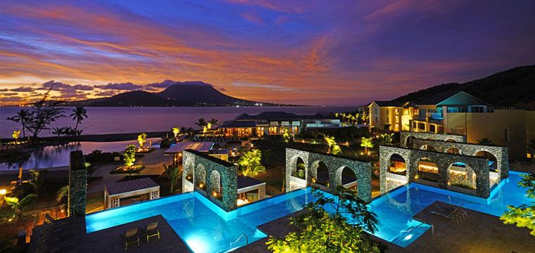 Stunning Christopher Harbor in Saint Kitts