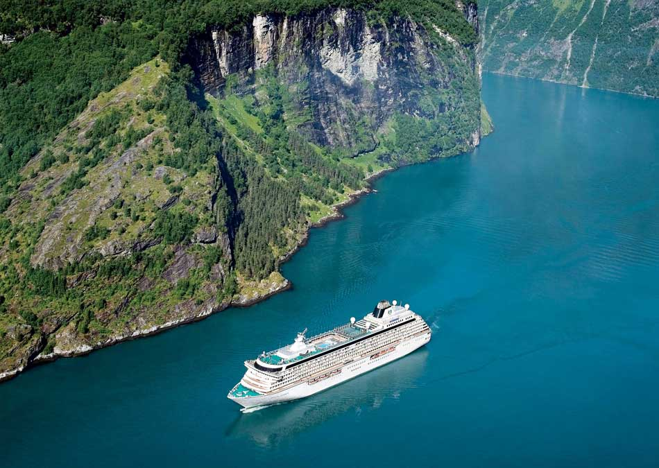 Crystal Serenity North Cape, Geiranger, Norway