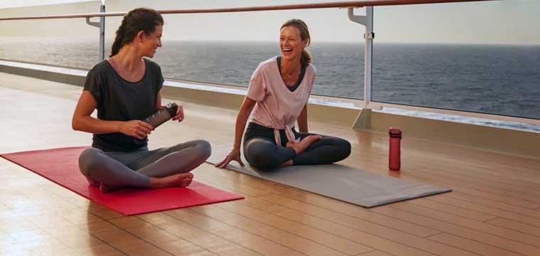 On deck yoga