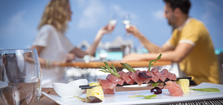 Enjoy All-Inclusive Food and Alcohol