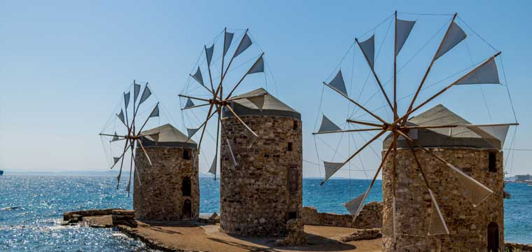 Oi Myloi Chios, Greece