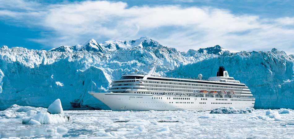 Crystal Symphony Glacier Bay, Alaska