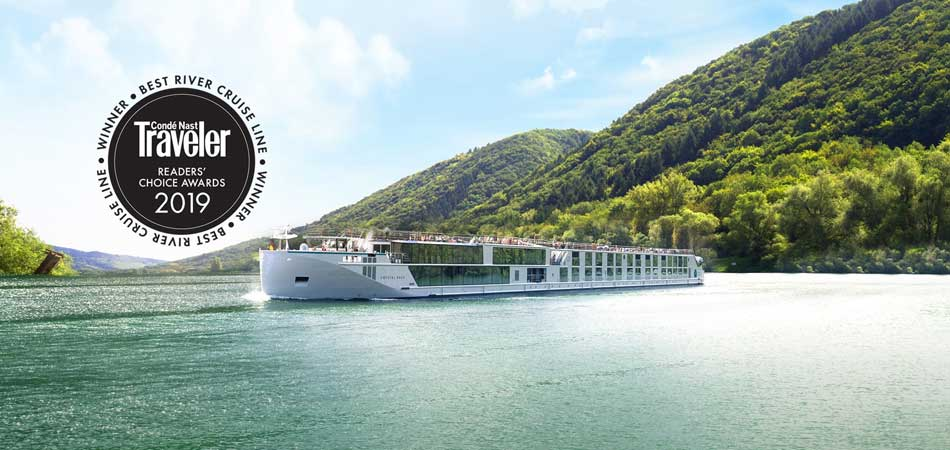 2019 Best River Cruise Line from Conde Nast