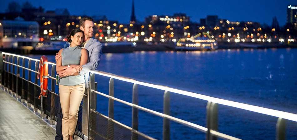 The stunning Vista Deck on Crystal Rhine