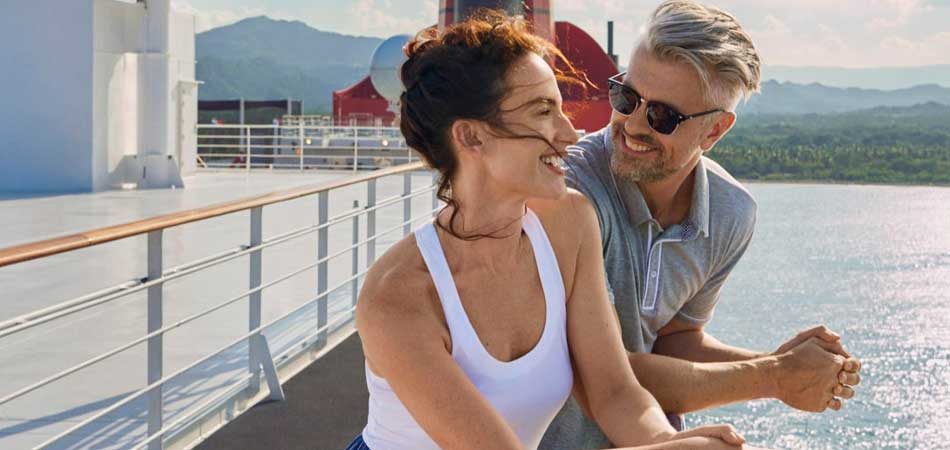 Laugh in Luxury on the Queen Mary's Terrace
