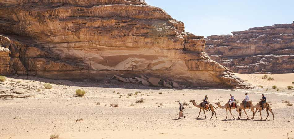 Jordan Wadi Rum Desert Camel Ride