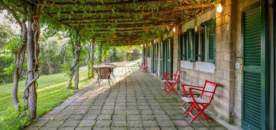 Pergolato Camerette, Italy - Coastal Tuscany