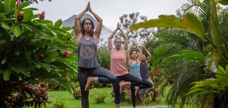 Wellness Yoga Class in Costa Rica