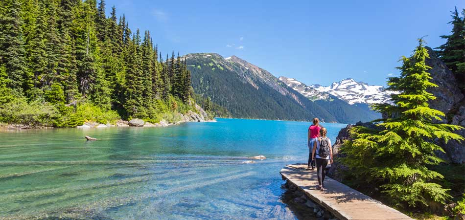 Garibaldi provincial park and lake