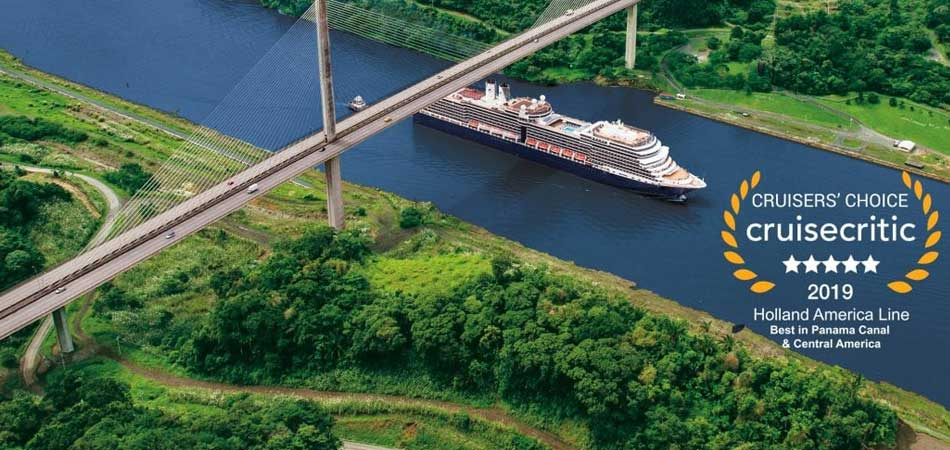 The Best cruise line for Panama Canal and Central America