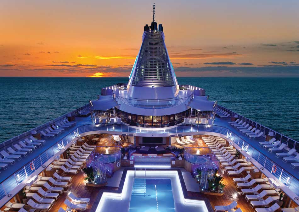 Oceania OClass Pool Deck