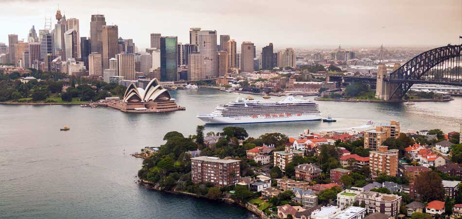 Sail down under on your next vacations getaway