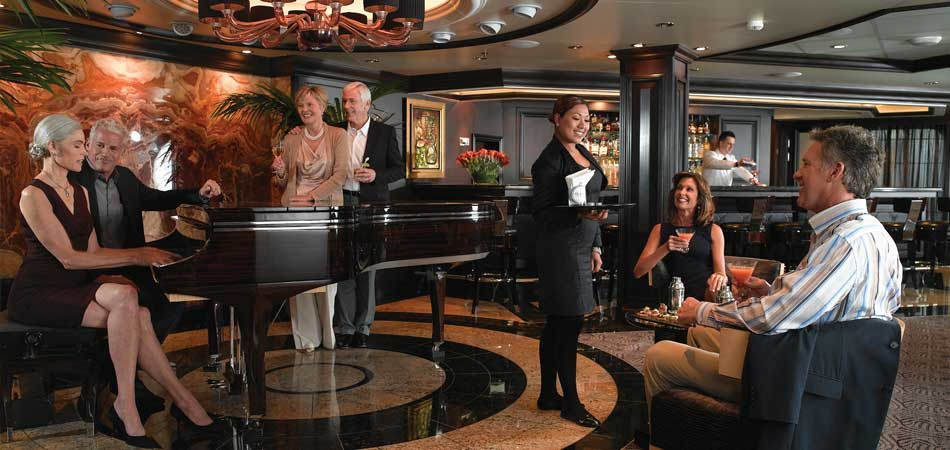 Host a Martini party in our piano lounge