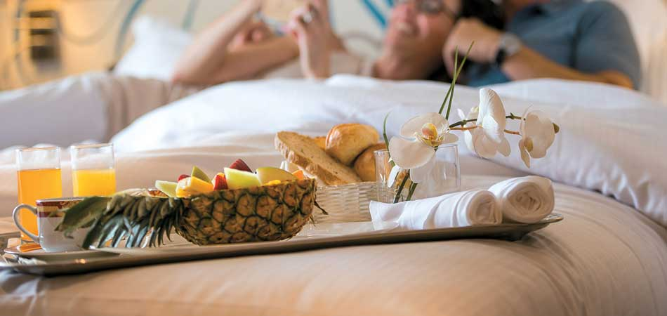 Lazy Day? Order Room Service