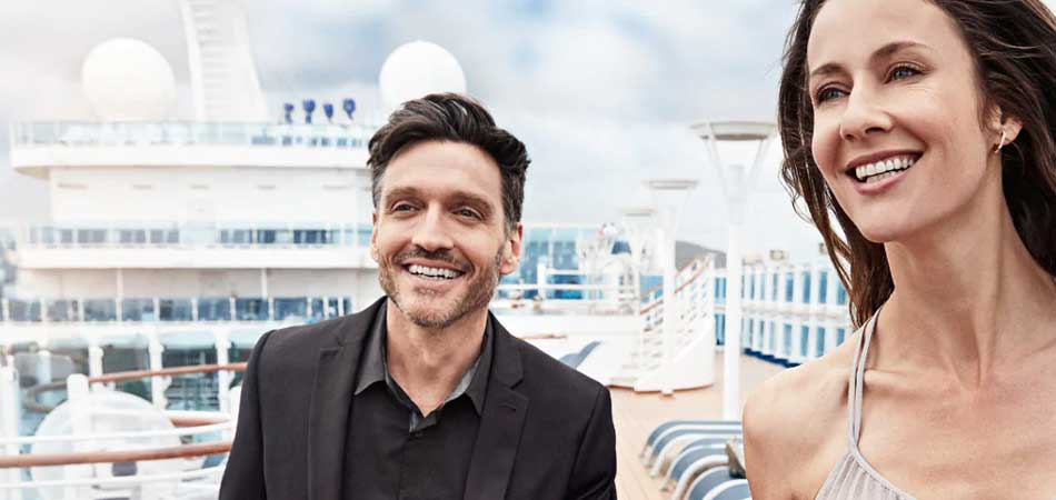 Princess Cruises is perfect for a couples retreat