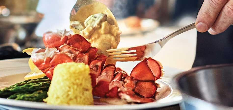 Enjoy a special night with a Lobster Dinner