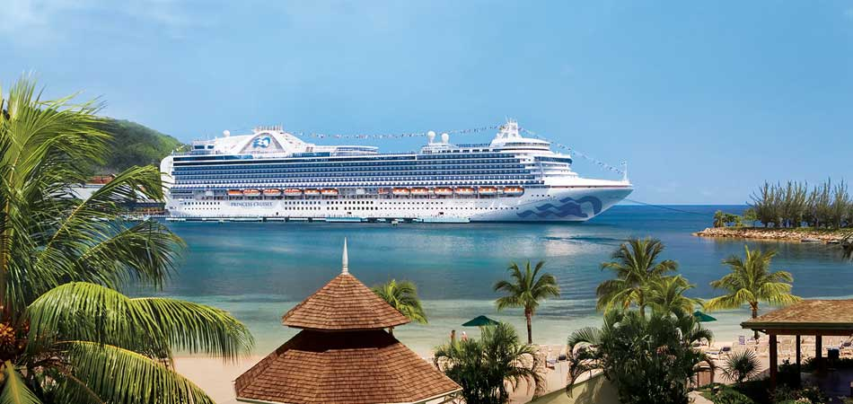 Princess Cruises specialized in affordable Caribbean getaways