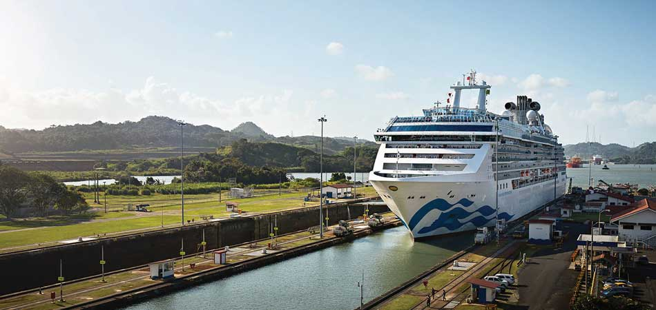 Sail through the Panama Canal