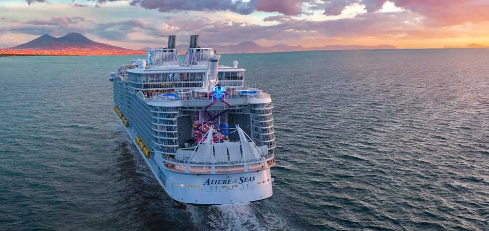 Sail on the majestic Allure of the Seas