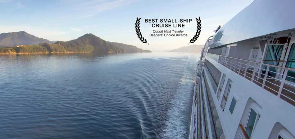 Best Small-ship Cruise Line from Conde Nast