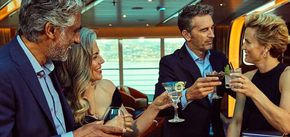 Seabourn's Bar & Lounges are world class