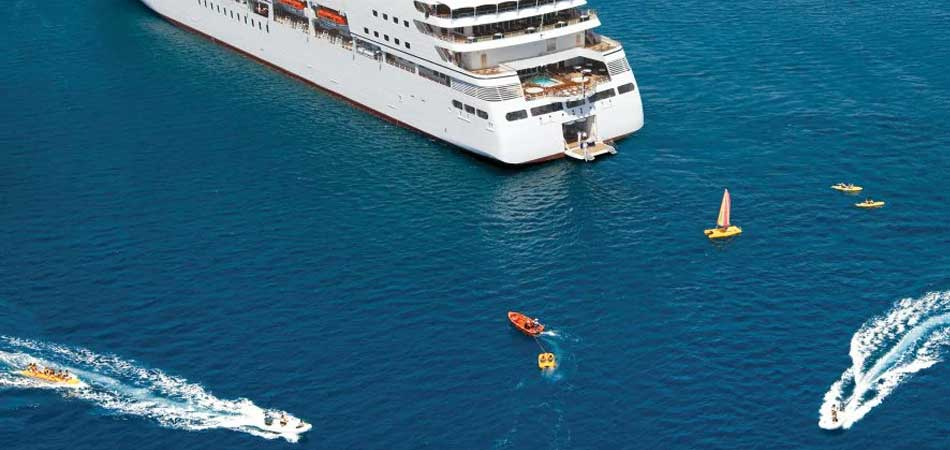 Seabourn has a variety inclusive watersports