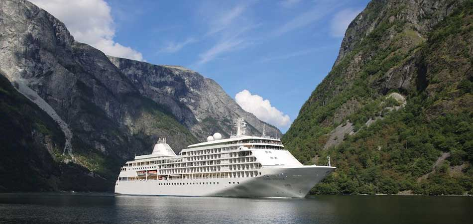 All-inclusive Small Ship Cruising on the 388 passenger Silver Whisper
