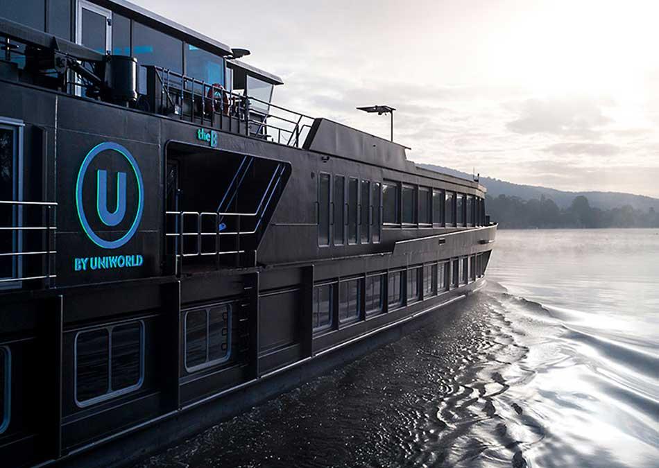 U by Uniworld All Black Floating Hotels