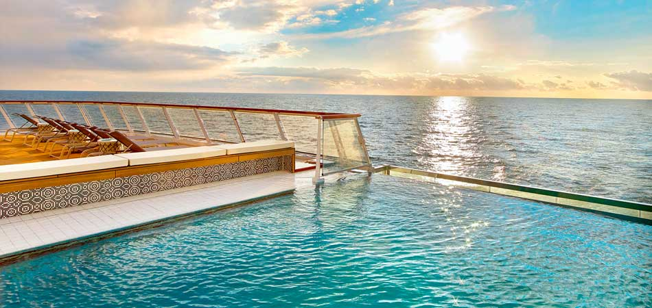 Viking Ocean Ship Infinity Pool