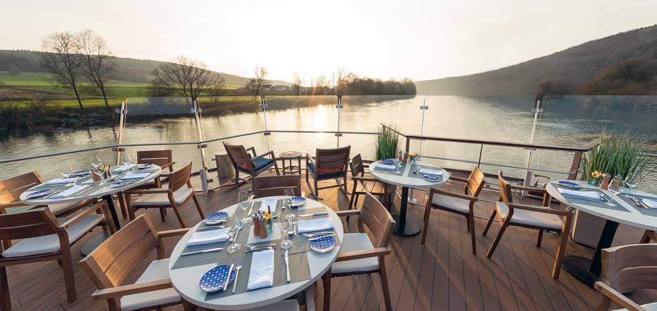 Viking Longships Aquavit Terrace