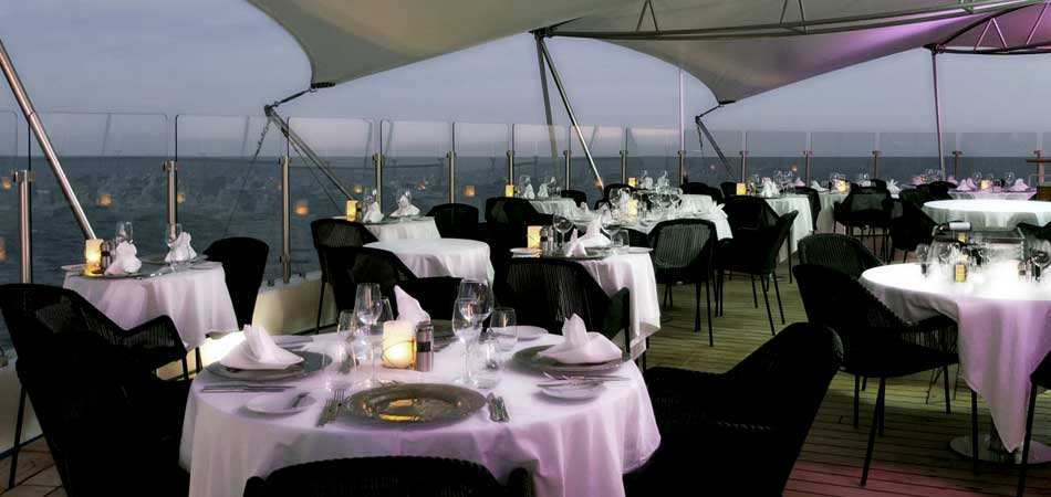 Spend a romantic night at Candles Grill