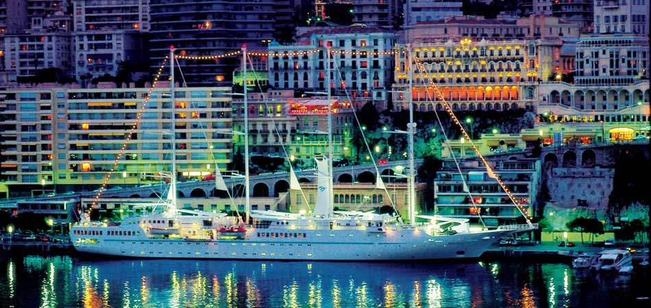Sail though Monte Carlo on Windstar