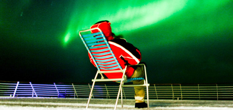 Hurtigruten knows the Northern lights