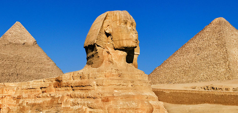 Wonders of the World: Great Pyramid and the Sphinx