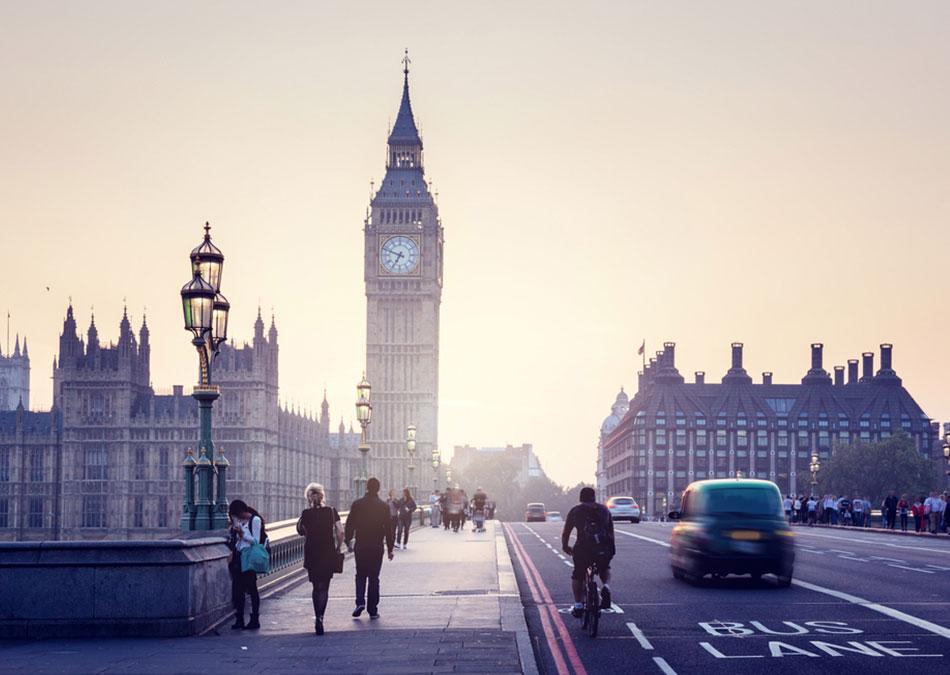 Take a walking tour of London