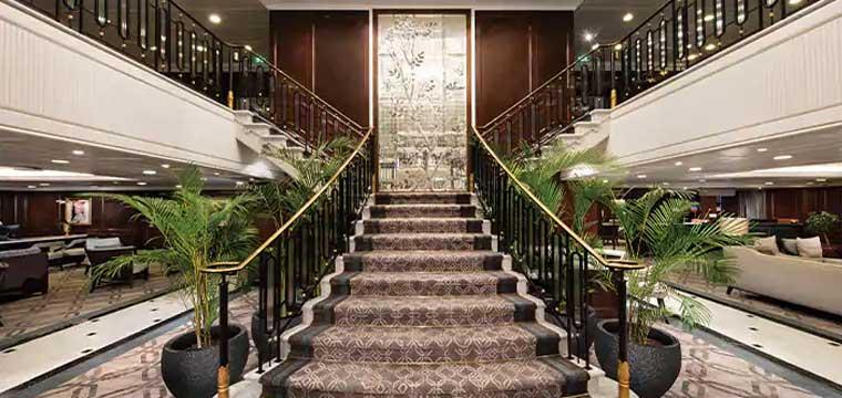 Oceania Insignia Grand Staircase