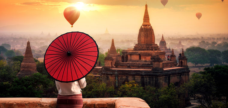 If you are booking a trip through Asia - don't forget Myanmar
