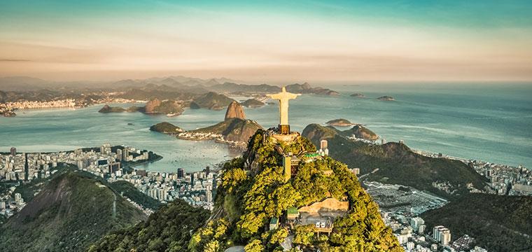 Botafogo Bay in Rio De Janeiro