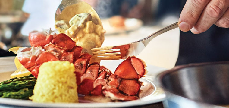 Celebrate with a lobster dinner