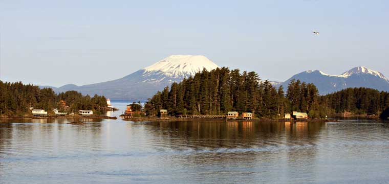 Mount Edgcome, Sitka, Alaska