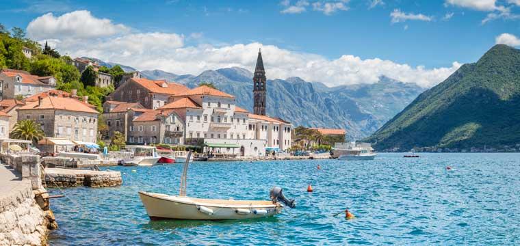 Bay of Kotor, Montenegro, southern Europe